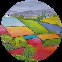 Les champs en couleurs - 2004 - Sandrine LIRANTE