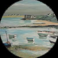 Le port de pêche - 2003 - Sandrine LIRANTE